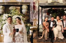 Gaya 8 seleb hadiri pernikahan Ayla Dimitri dan Rama Devara