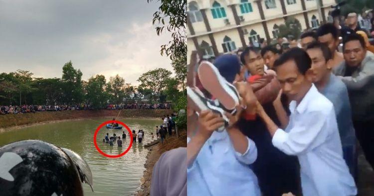 Kejutan ultah berujung maut, 2 mahasiswa tenggelam di embung kampus