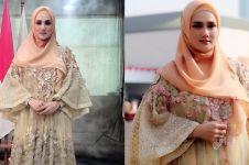 Mengintip gaya dan aktivitas Mulan Jameela ngantor di Gedung DPR