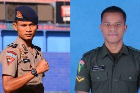 8 Pesepak bola Indonesia ini juga aktif sebagai tentara & polisi