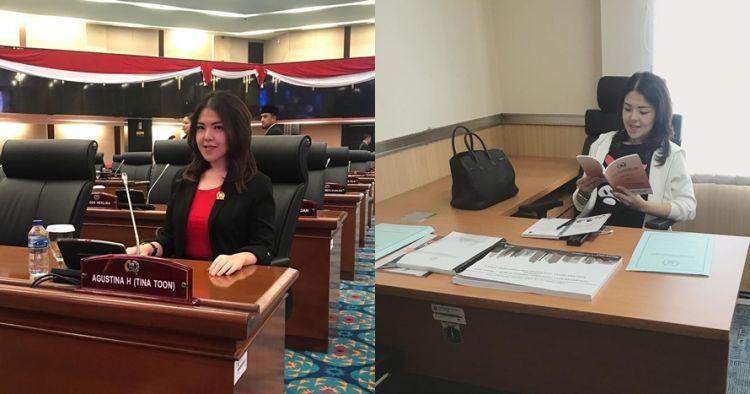 Jadi anggota DPRD DKI Jakarta, ini 10 potret Tina Toon saat ngantor