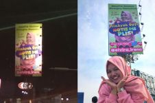 Cari perhatian artis Korea, fans perempuan ini pasang papan iklan