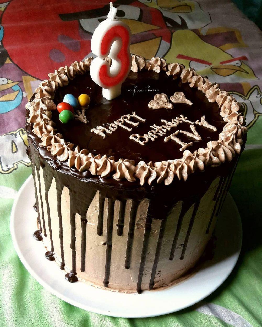 10 Cara Membuat Kue Ulang Tahun Enak Sederhana Dan Cantik