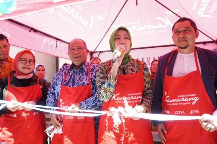 Brand fashion asal Bandung bangun Kantin Sedekah, spirit berbagi