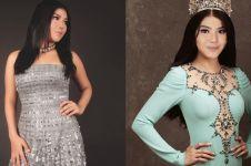 Ingin ikut kontes kecantikan, ini 8 gaya Rosa Meldianti bak model