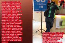Viral kisah driver ojek online antre lama tapi orderan dibatalkan