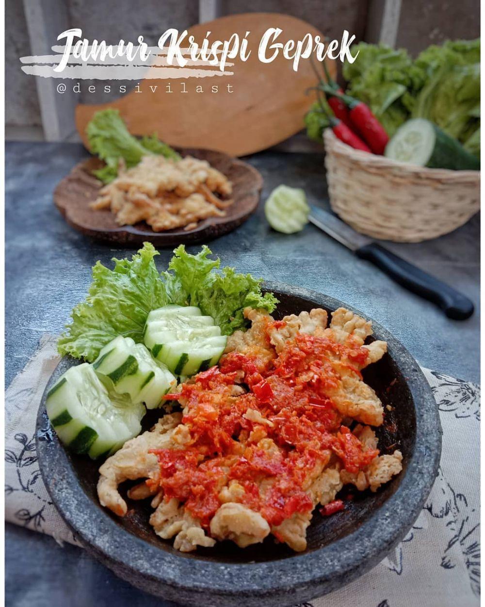 Resep jamur crispy istimewa