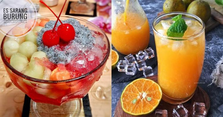 20 Resep minuman segar, sederhana, dan pelepas dahaga