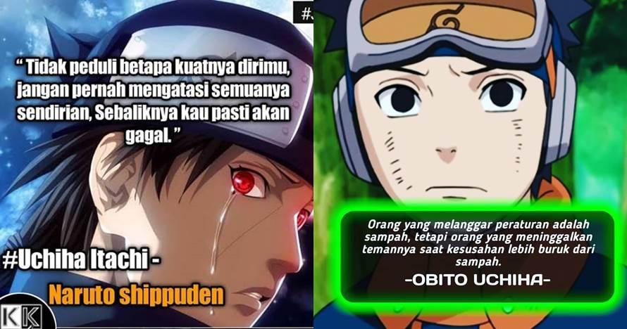 40 Kata-kata bijak Naruto paling keren, menyentuh hati
