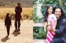 Jadi orangtua tunggal, ini 10 momen manis Dimas Djay momong anak