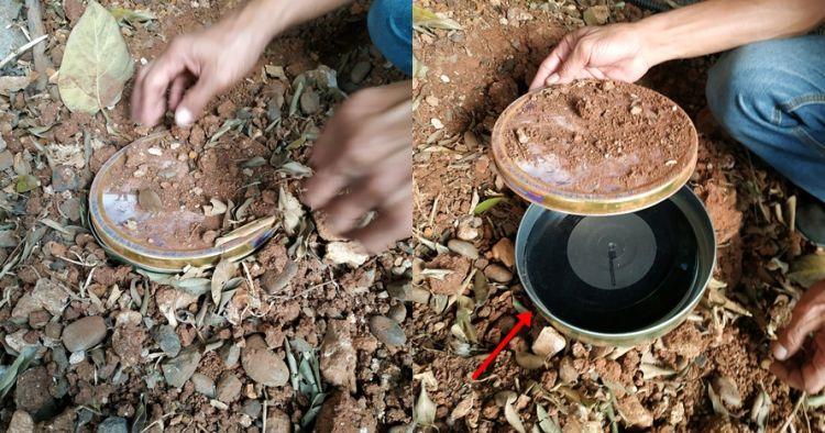 Temukan piringan hitam terkubur, begini isinya setelah diputar