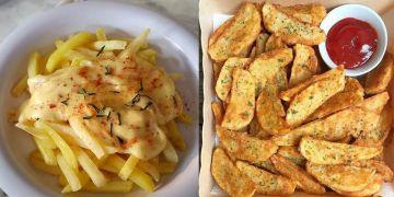 10 Cara membuat kentang goreng renyah, lezat, dan praktis