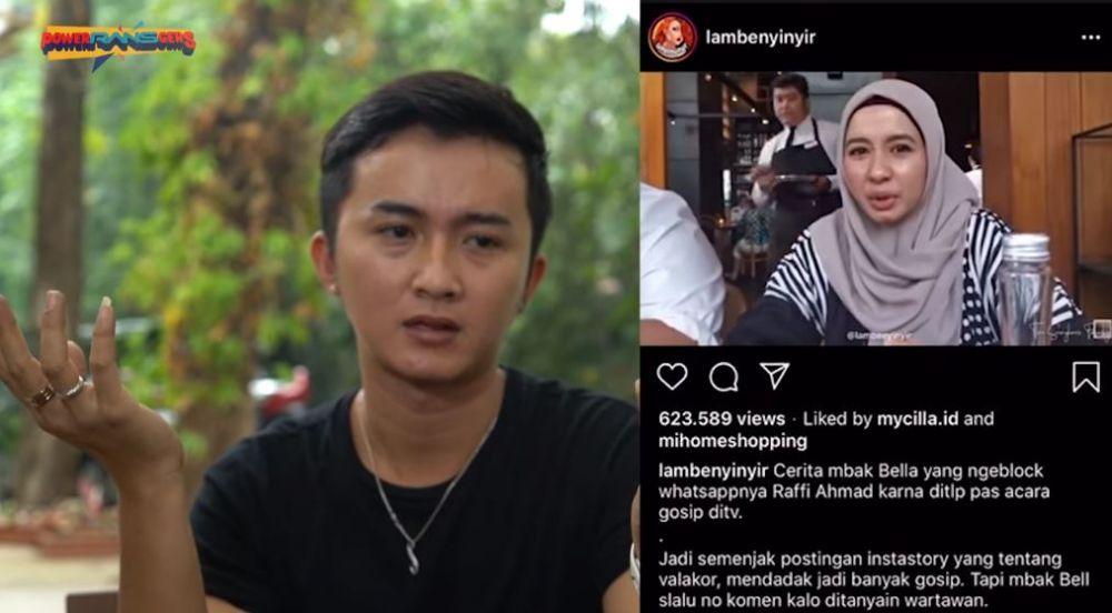 Balasan menohok asisten Raffi Instagram