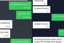 11 Chat lucu driver ojek online tanya lokasi ini bikin nyengir