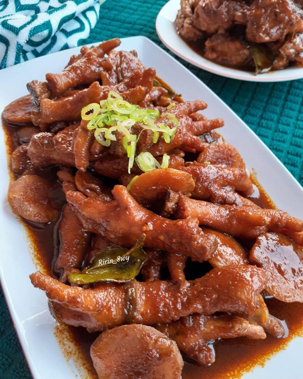 20 Resep kuliner ayam paling enak instagram