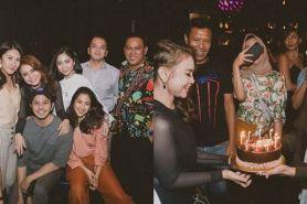 10 Potret kemeriahan pesta ulang tahun Rossa, penuh kejutan