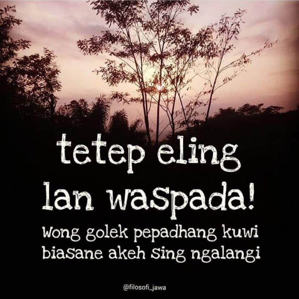 Kata Kata Motivasi Hidup Bahasa Jawa
