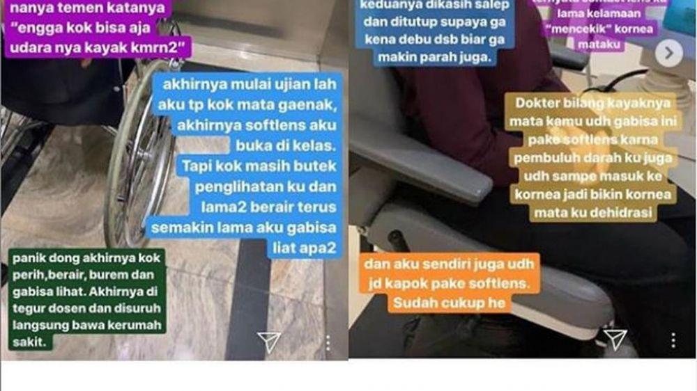 Kisah ngeri Salshabilla Adriani Instagram