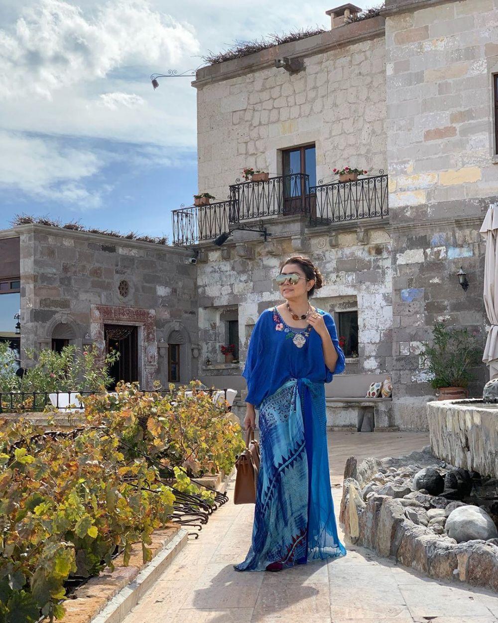 Gaya liburan Mayangsari ke Turki Instagram
