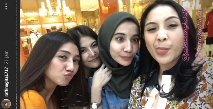 Nagita Slavina & Zaskia Sungkar tepis lagi marahan Instagram