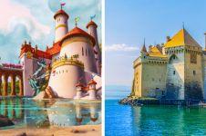 11 Tempat wisata di dunia ini menginspirasi film kartun