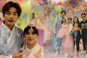 7 Momen 100 hari kelahiran anak kedua Lee Jeong Hon, meriah