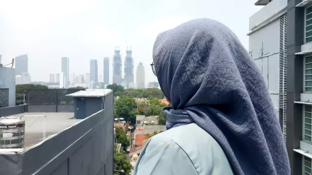 crosshijaber mui haram © merdeka.com & liputan6.com