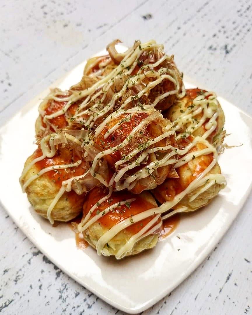 Cara membuat takoyaki rumahan Instagram