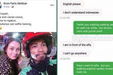 7 Momen driver ojek online ngomong Bahasa Inggris ini kocak abis
