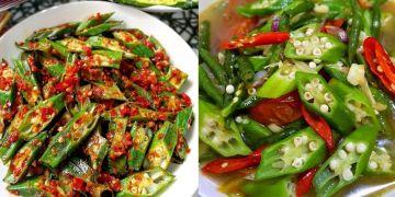 13 Cara memasak okra, lezat, sederhana dan tidak berlendir