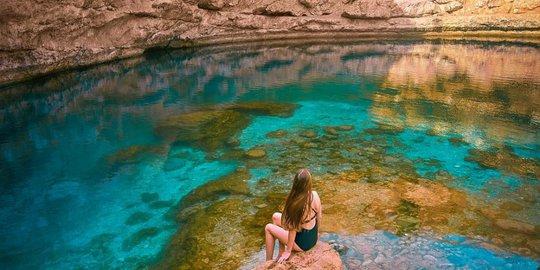 kolam natural indah dunia © berbagai sumber