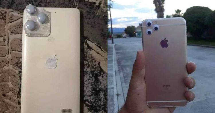 8 Penampakan iPhone 11 low budget ala warganet ini bikin nyengir
