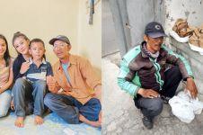 Momen haru pertemuan Awkarin & driver ojek online kecurian motor