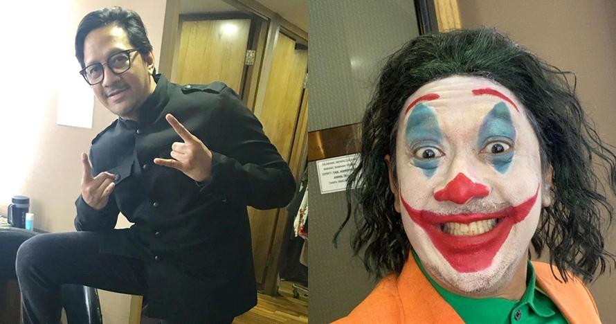 5 Seleb dandan jadi Joker, kancing celana Andre Taulany jadi sorotan