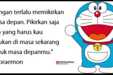 40 Kata-kata bijak penuh motivasi di film kartun Doraemon
