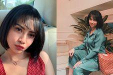 Unggah momen bareng mantan pacar, rok Vanessa Angel jadi sorotan