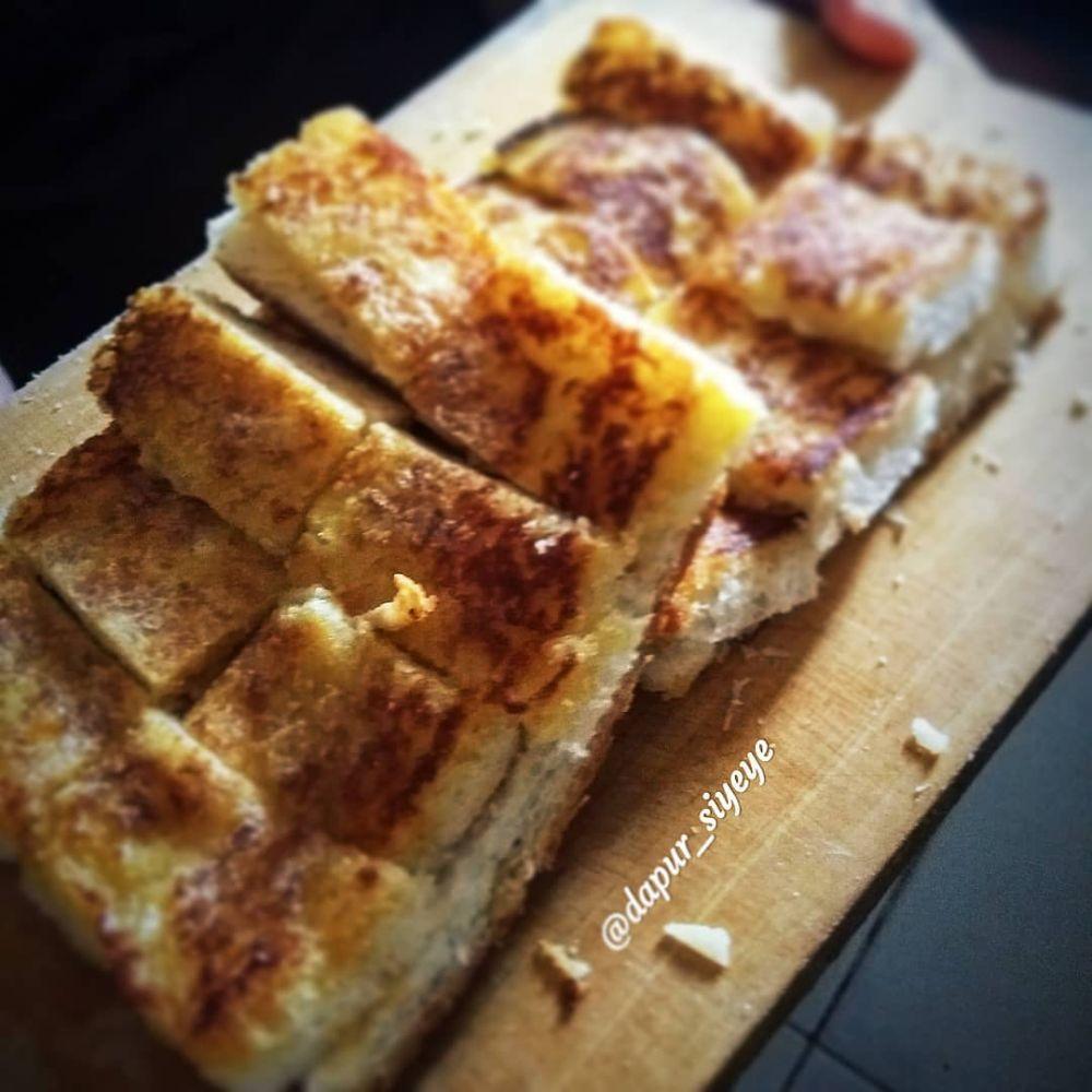 Cara membuat roti bakar di rumah Instagram