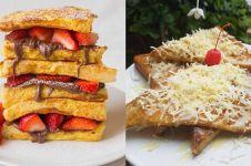 10 Cara membuat roti bakar di rumah, sederhana, enak, mudah