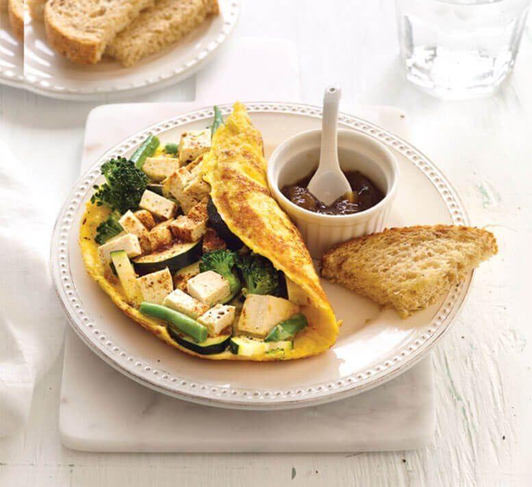 Cara membuat omelet telur © 2019 brilio.net