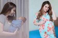 Celine Evangelista unggah foto anak ke-4, paras bayi jadi sorotan