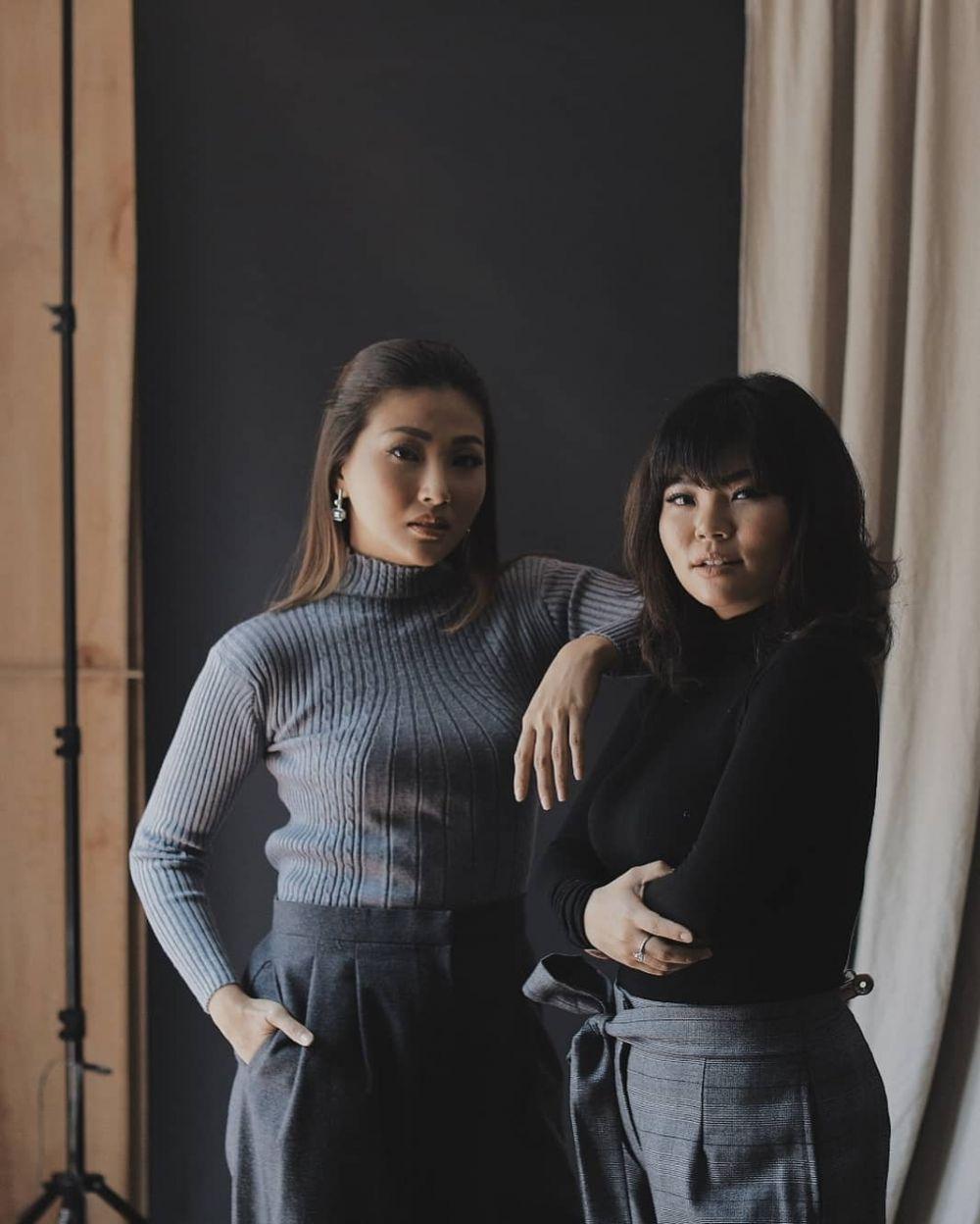 Wendah dan Wendy bersama Instagram