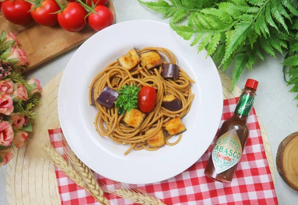 Cara membuat spaghetti rumahan  Instagram
