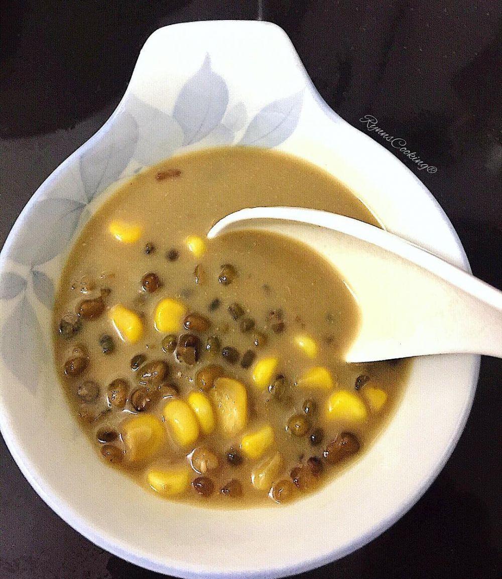10 Cara membuat bubur kacang ijo, enak dan mudah dibuat Instagram/@t_finna @fitafitriya