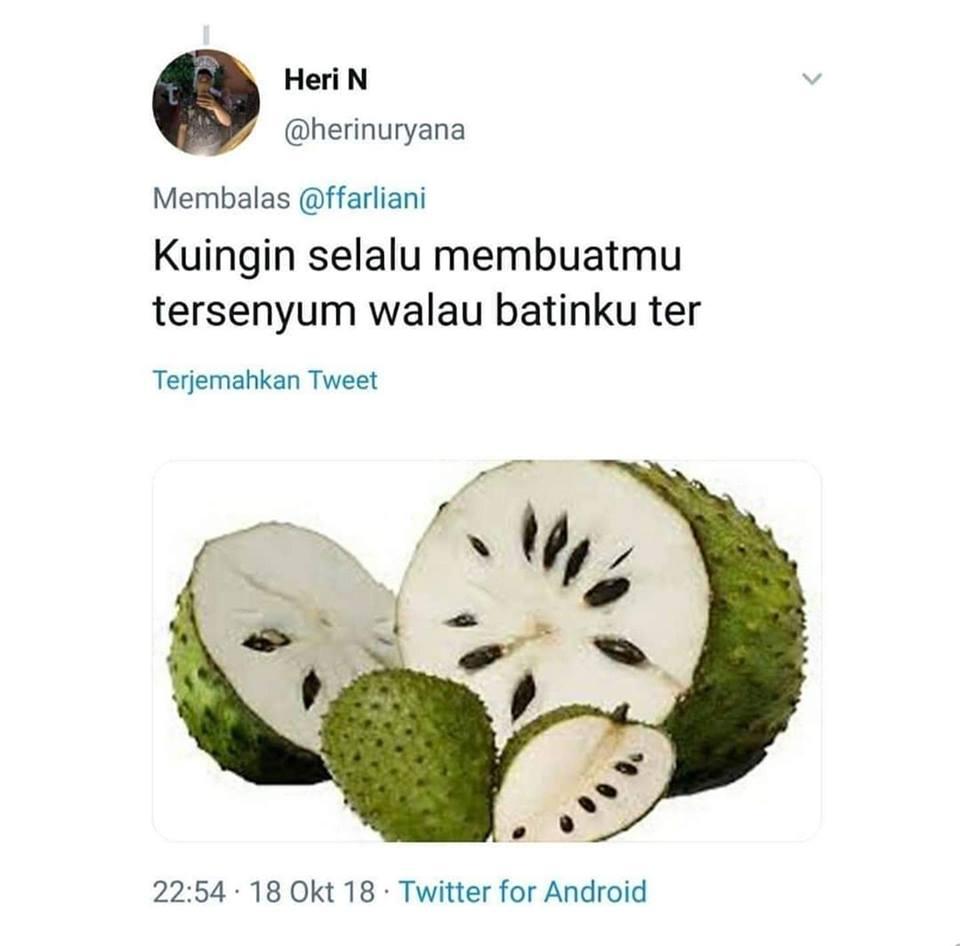 pelesetan nama buah istimewa