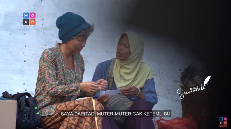 Nyamar jadi nenek tua YouTube