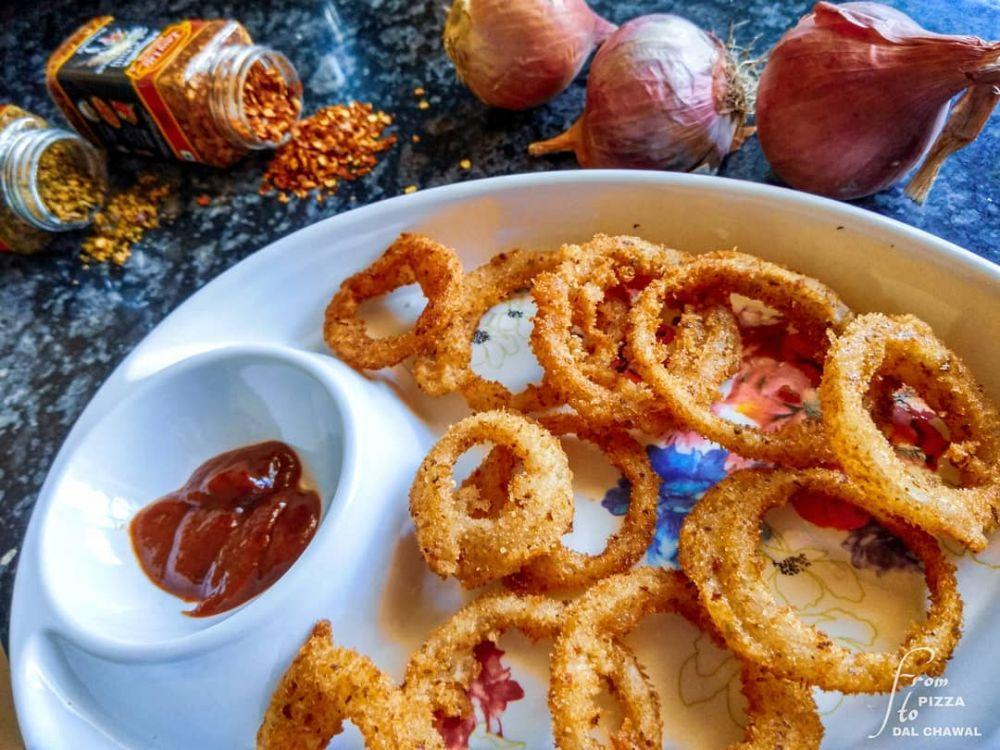 10 Cara membuat onion ring kekinian, crispy dan mudah instagram