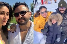 Momen ulang tahun pernikahan Kareena Kapoor & Saif Ali Khan