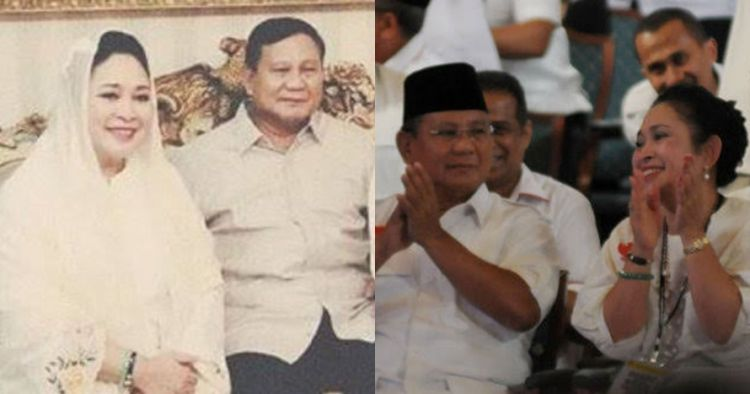 Prabowo ulang tahun ke-68, ini ucapan mesra Titiek Soeharto