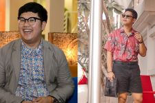 Sukses diet, 9 potret terbaru Ricky Cuaca ini bikin pangling