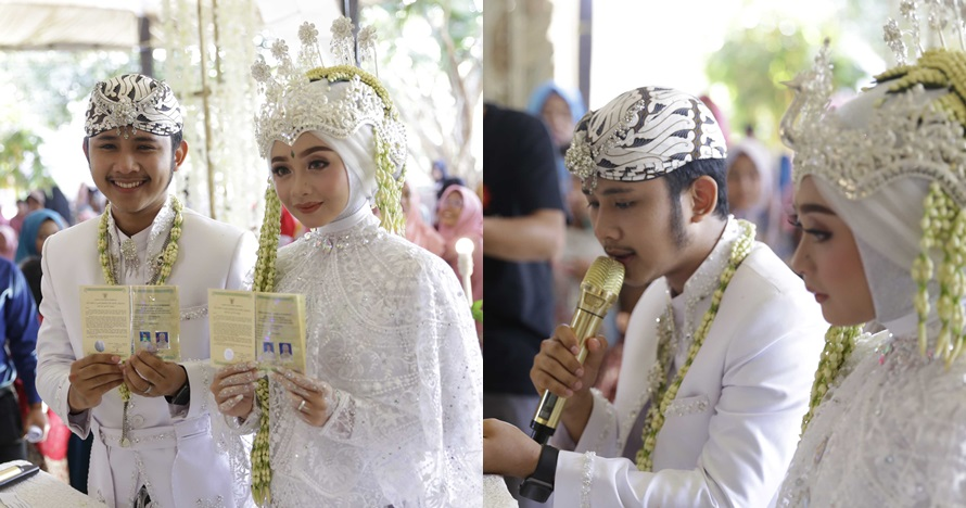 6 Fakta pernikahan Ega Noviantika dan Rafly D'Academy